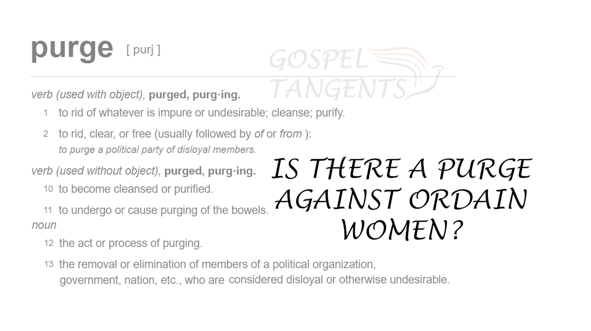 Is there a purge against Ordain Women? Were the Brethren successful in blunting the organization?