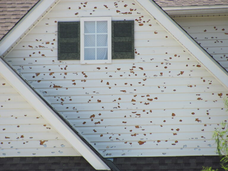 Home Siding Hail Damage