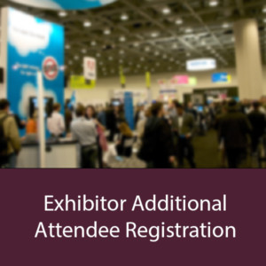 Exhibitor Additional Attendee Registration