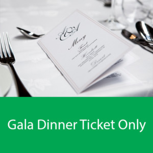 Gala Dinner Ticket Only