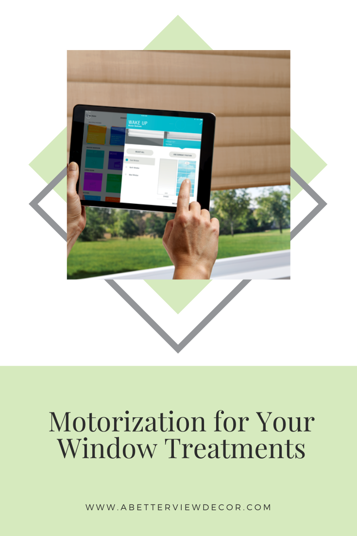 Motorization For Your Window Treatments
