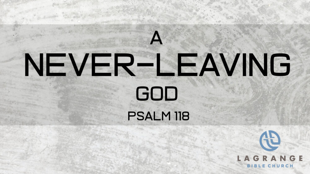 A Never-Leaving God Image