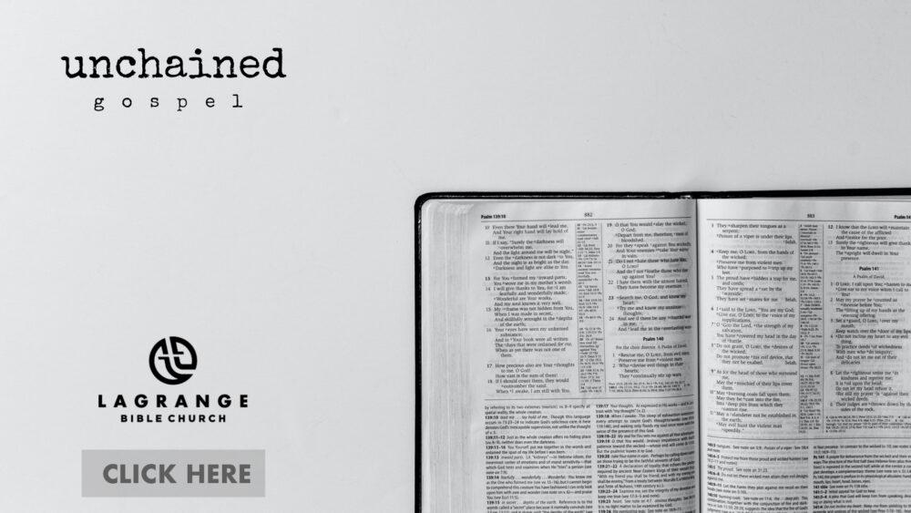 Unchained Gospel Image