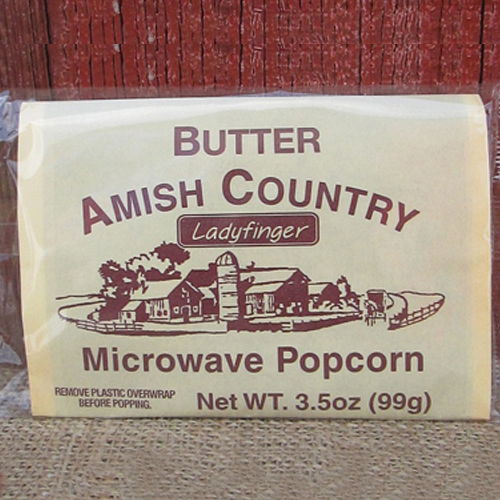 Amish Country Butter Microwave Popcorn
