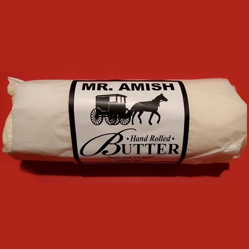 Mr. Amish Hand Rolled Butter 2lbs
