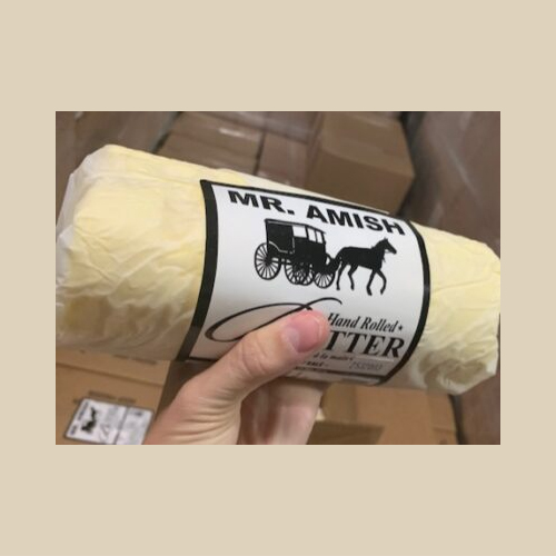 Mr. Amish Hand Rolled Butter