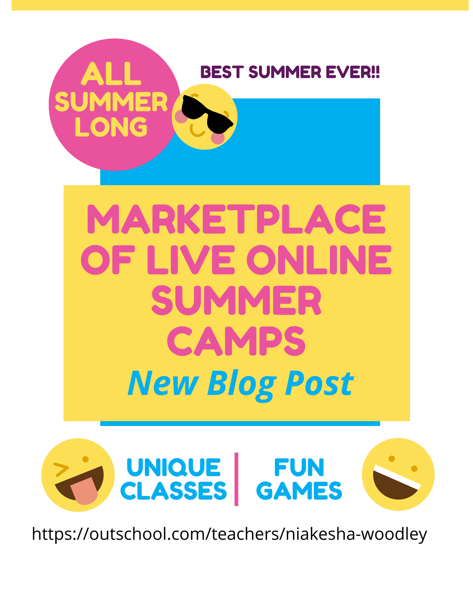 A Marketplace of Live Online Classes for k-12 With Unique Summer Learning Experiences – Ready to Hear Best Summer EVER!