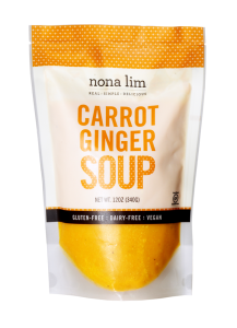 Nona Lim Carrot Ginger Soup