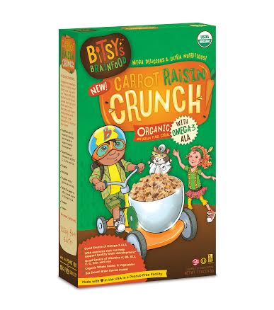Bitsy's Carrot Raisin Crunch