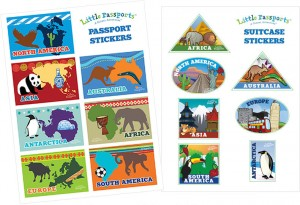 Little Passports Stickers