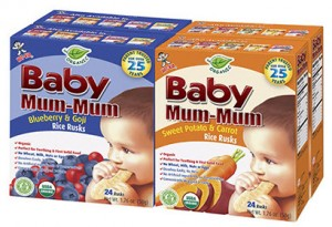Baby Mum Mum carrot blueberry combo