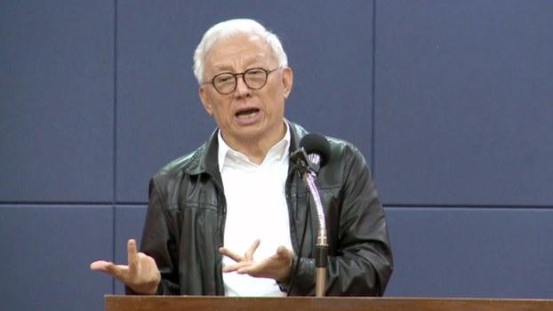 """联电荣誉董事长曹兴诚斥责""""台湾自古是中国的领土""""、""""九二共识、一中各表""""都是胡说八道。"""