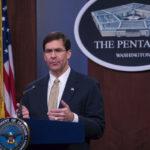 美国防部长埃斯珀 图源:美国防部网站