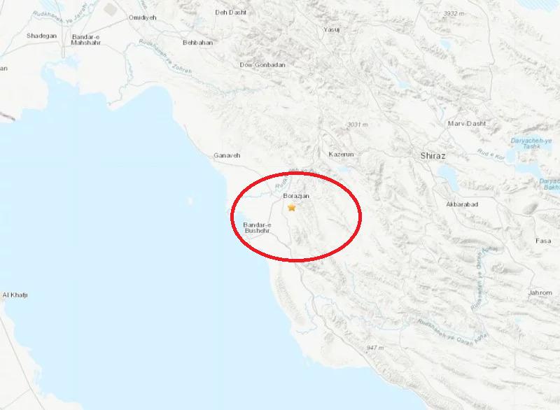 伊朗发生规模4.9浅层地震