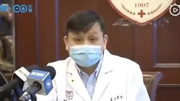 上海医疗救治专家组组长、华山医院感染科主任张文宏