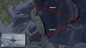 美国B1B轰炸机飞机进入南海