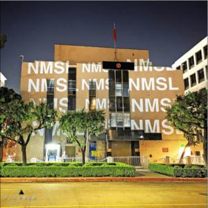 中国洛杉矶领馆遭投影:NMSL、习近平女神