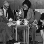 邓小平在北京与当时的英国首相撒切尔夫人会面
