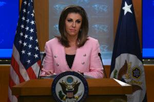 美国国务院发言人摩根·奥塔格斯(Morgan Ortagus)
