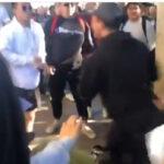 澳大利亚中国留学生殴打纪念六四活动的同学