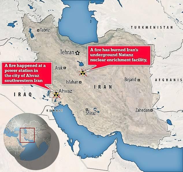 最新 伊朗电厂又19日爆炸了!伊朗人不敢公布原因,地球人都知道是以色列F35轰炸的!
