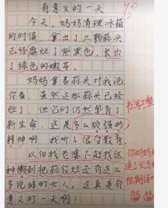 """小学生作文写""""我的妈妈"""""""