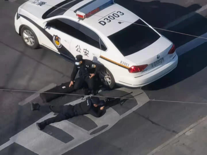 中共警察狙击手