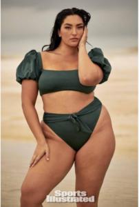 美国亚裔大胸女模特创造历史 - 美女