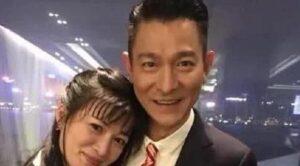 刘德华和太太朱丽倩
