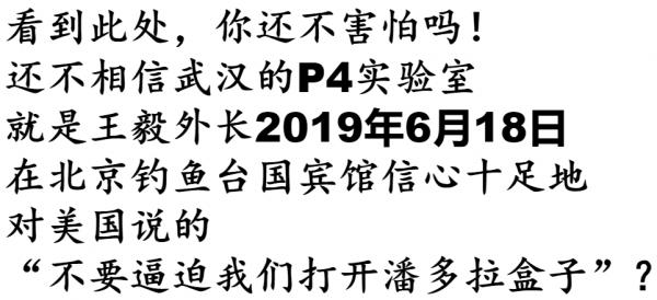 应对川普贸易战, 王毅2019年六月十八日信心十足警告美国人: 不要逼迫我们打开潘多拉盒子!