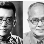胡适(左)与吴晗(右)