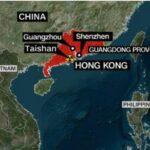香港周边有六个核电厂