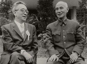 胡适和蒋介石
