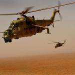 美军军队直升机