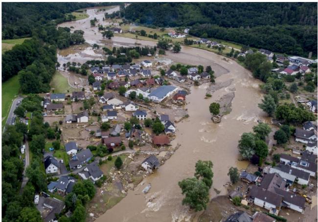 胡锡进点评德国水灾 评论区翻车