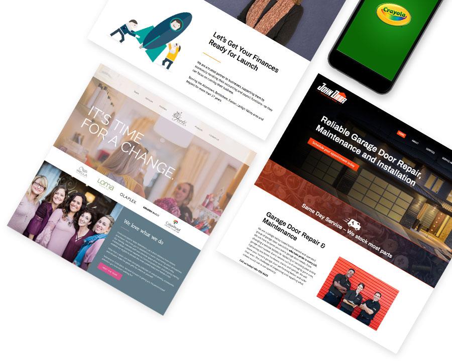 Website Development + Search Engine Optimization + Marketing