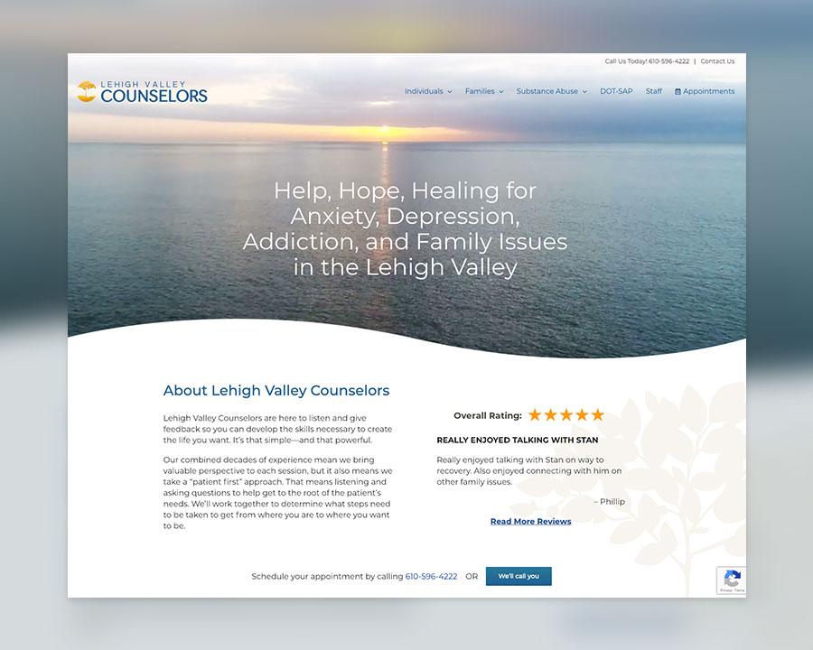 Lehigh Valley Counselors Website