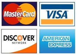 Credit Cards we accept at Fenton Foot Care