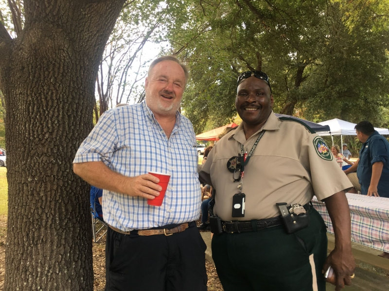 Sam Karnes and Byron Lyons - Candidate  for Sheriff