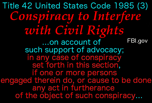 Conspiracy to Interfere w Civil Rights 5