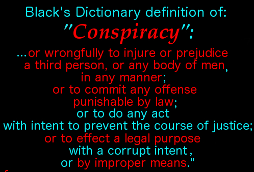 definition of conspiracy 3