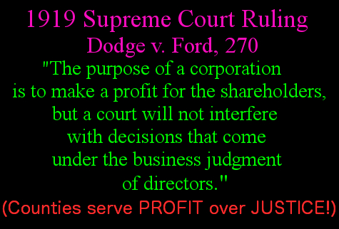 Dodge v Ford corporatiosn for profit