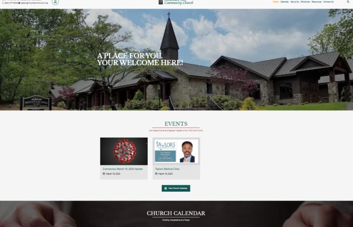 New MHCC Web Site Released