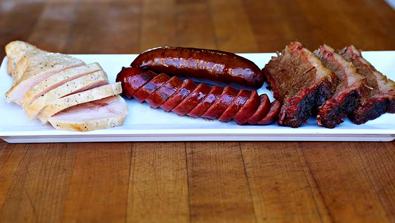 three meat