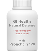 Example of a bottle that can contain probiotics Proacticin™ PA