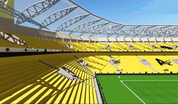 Υπολογίζει ετήσια έσοδα απ' το γήπεδο 6,5 εκ. ευρώ
