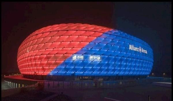 Στον… φωτισμό του «Allianz Arena»