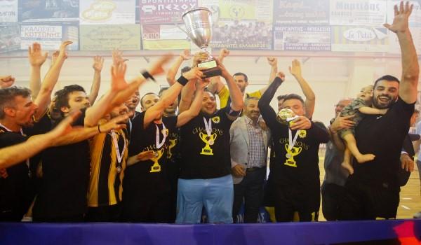 Πρωταθλήτρια η ΑΕΚ στο Futsal