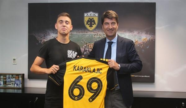 Ανακοινώθηκε και πήρε το «69» ο Καρακλάιτς