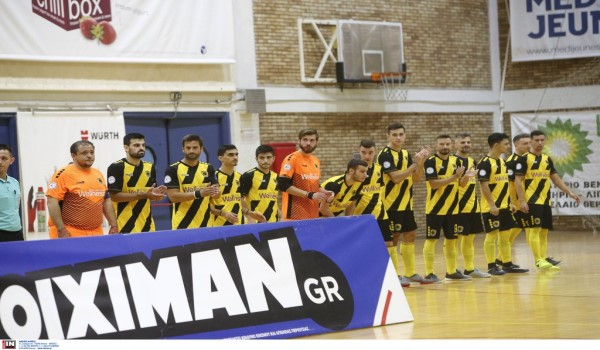 Εβαλε 20 γκολ στο Ρέθυμνο η ΑΕΚ στο Futsal